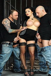 Aletta With Two Cock 07