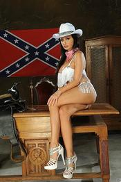 Aletta Ocean Naughty American Cowgirl Gets Nude 00
