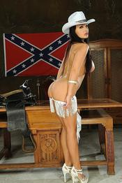 Aletta Ocean Naughty American Cowgirl Gets Nude 06