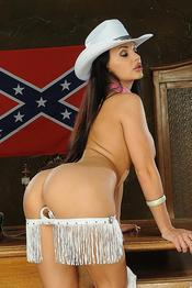 Aletta Ocean Naughty American Cowgirl Gets Nude 07