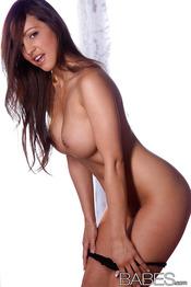 Amazingly Sexy Brunette Abigail Mac 02