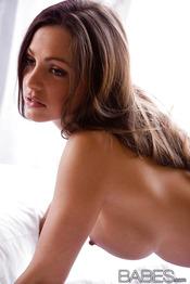 Amazingly Sexy Brunette Abigail Mac 14
