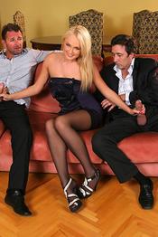 Ivana Sugar Threesome Anal And DP 11