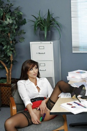 Reena Sky Office Sex 00