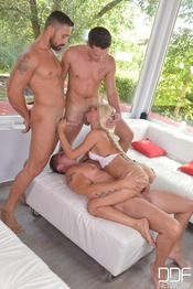 Triple Penetration With Chloe Lacourt 08