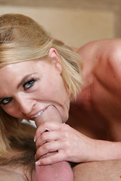 Busty Blonde Gives Bj 01