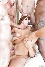Keisha Grey Getting Gangbanged 10