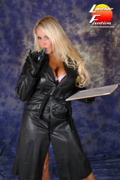 Giant Boobs And Leather 07