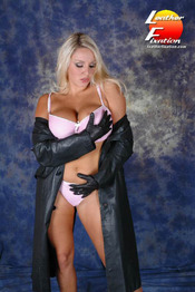 Giant Boobs And Leather 13