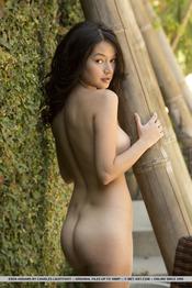 Eden Addams Naked In The Garden 14