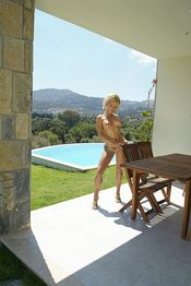 Hot Blonde Naked And Wet 06