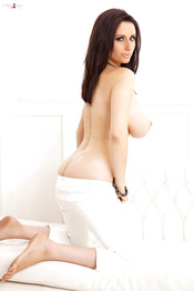 Superb Brunette In A Lingerie Sammy Braddy 07