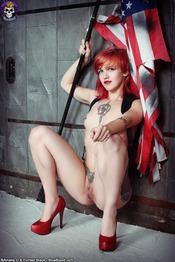 Dangerous Tattooed Redhead Cutie Pandora Von Kit 11