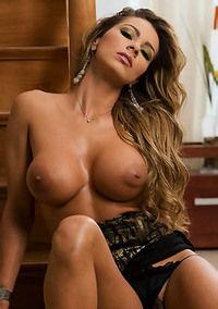 Busty Blonde Esperanza Gomez Shows Pussy