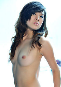 Young Asian Secretary Strips In The Office