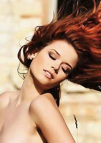 Kamila Hermanova Hot Redhead Babe