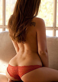 Dani Daniels Bares All Out Of Her Red Bra