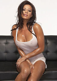 Candice Michelle Busty Babe