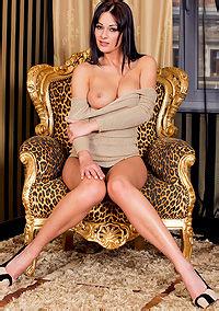 Dana Weyron - Hot Black Panties
