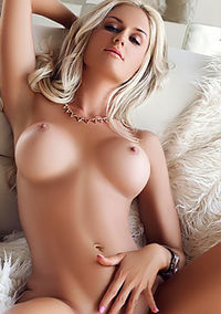 Hot Blond Playboy Goddess
