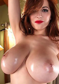 Tessa Fowler Shows Off Her Huge Breasts