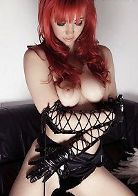 Redhead Sophia Knight