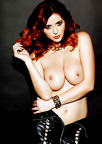 Alluring Redhead Babe Lucy Collett