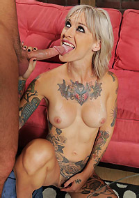 Tattooed Bitch Anal Fucked