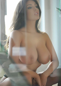 Lucy Pinder Busty Brunette Glamour Model