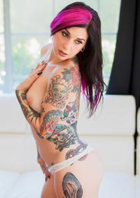 Sexy Tattooed Joanna Angel