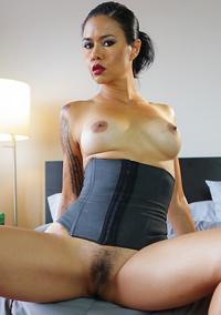 Hot Latina Milf Dana Vespoli In Sexy Black Corset