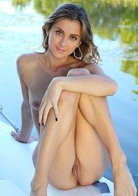 Sexy Blonde Benita