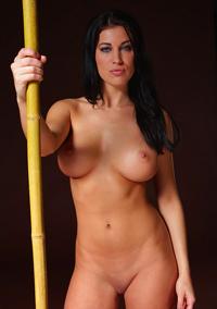 Rachelle Wilde With Bamboo