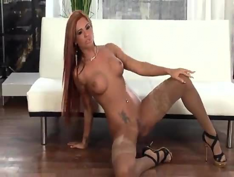 Ashley Bulgari In Couch