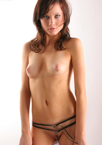 Slim Girl Jitka Just Naked