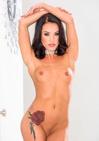 Megan Rain Strips To Naked