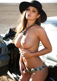 Asian Centerfold Model Chelsie Aryn
