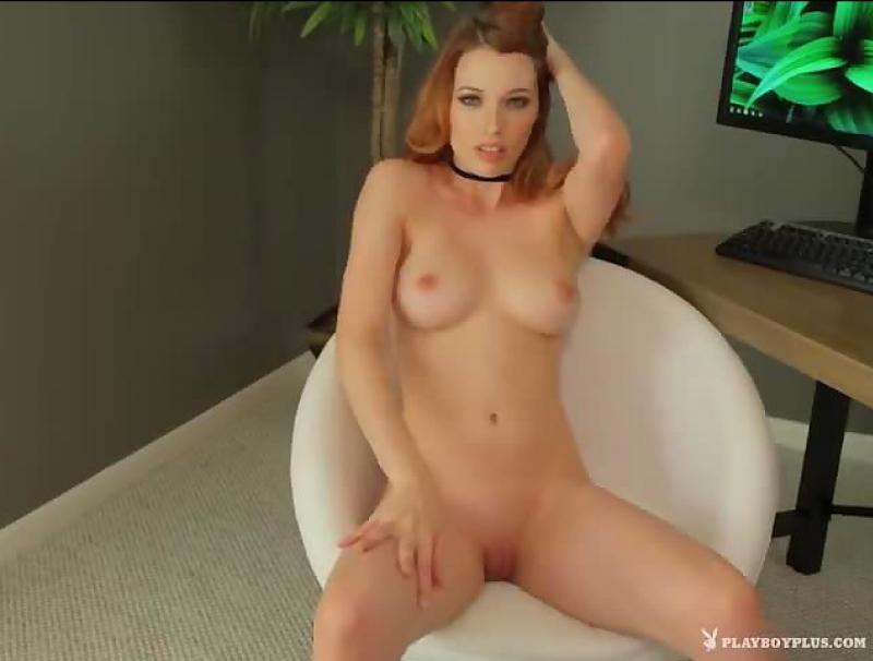 Redhead Centerfold Caitlin McSwain