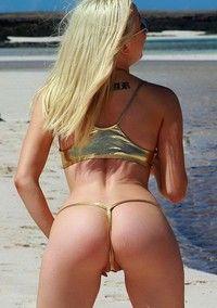 Leah On The Beach