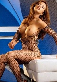 Fishnet Beauty