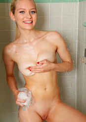 Skinny Young Blond Alli Rae