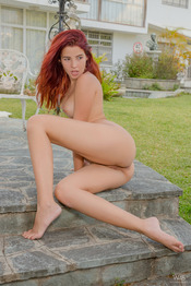 Horny In The Garden 06